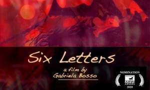 Menzione speciale a 'Six Letters'